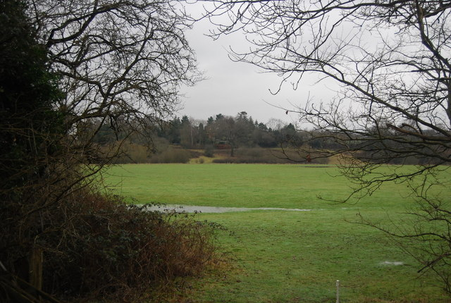 View south from the bridleway towards Penshurst