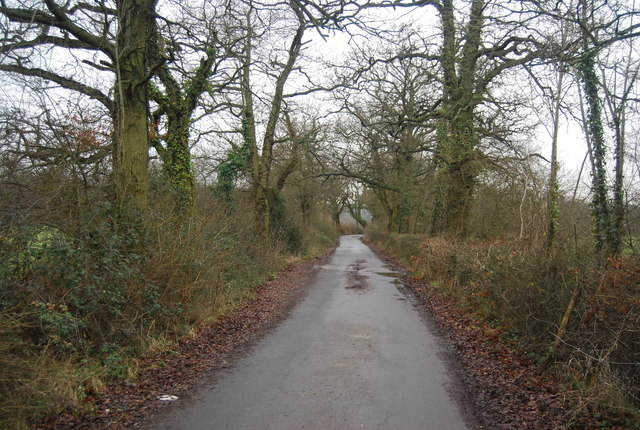 Bridleway west of the B2188