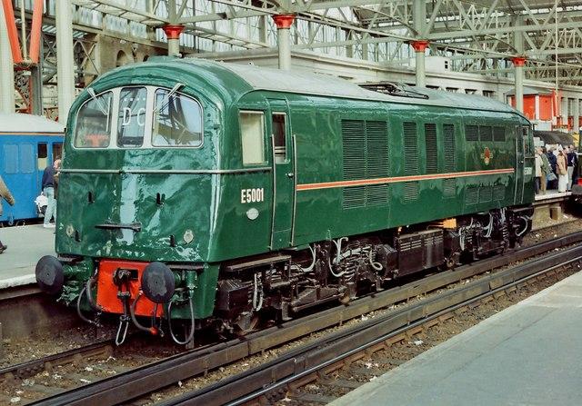 Network 150 Day - (08) British Rail Class 71 electric loco No. E5001