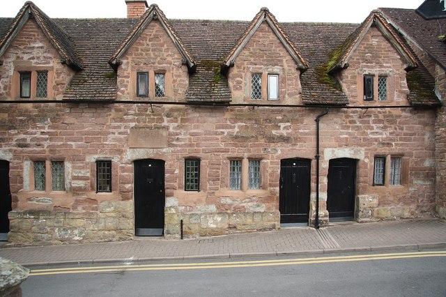 Rudhall almshouses