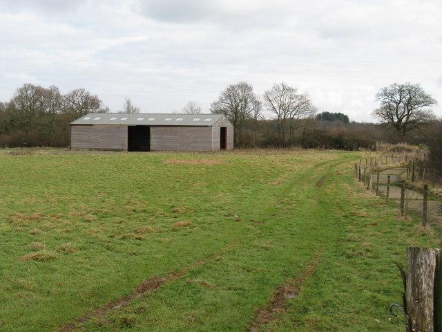 New barn at Goff's Farm