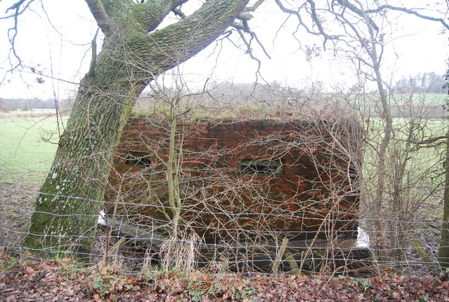 Pillbox near the River Eden