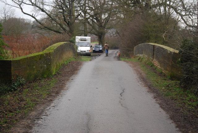 Bridleway crosses the River Eden
