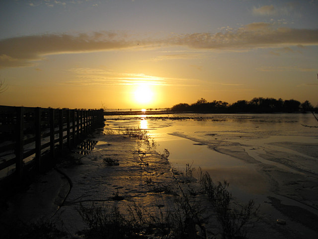 Winter Sun at Hundred Foot Washes