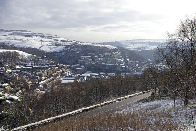 View towards Hebden Bridge