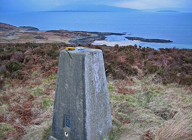 Sasunnaich trig point