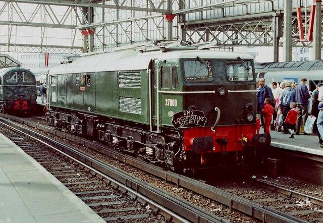 Network 150 Day - (09) British Rail Class 77 electric loco No. 27000