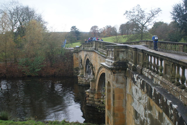 The bridge over the Derwent at Chatsworth