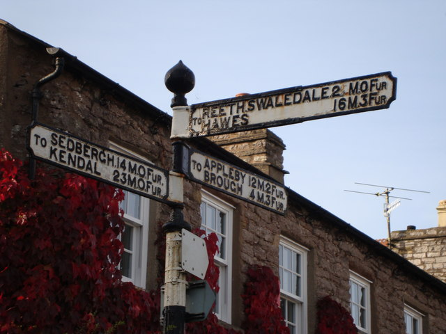Fingerpost, Kirkby Stephen