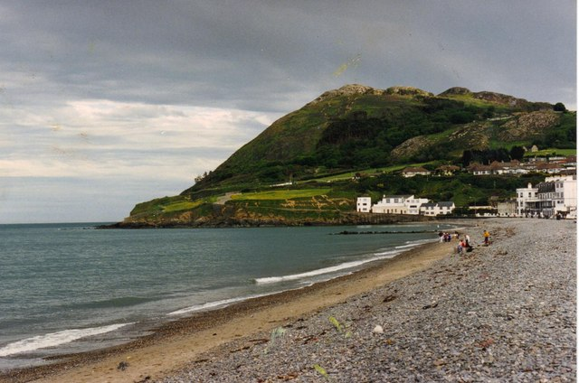 Bray beach with Bray Head beyond