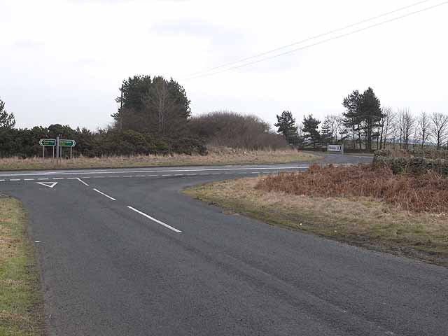 Crossroads on the A68