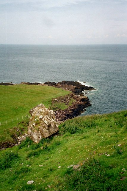Coastline near Duntulm Castle, Isle of Skye