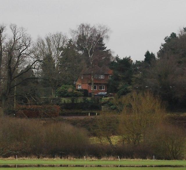 Large house on The Glebe, Penshurst
