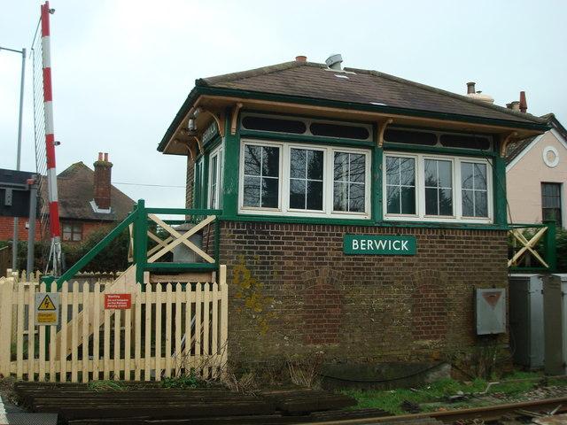 Berwick Signal Box