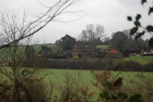 Doubleton Farm Oast house