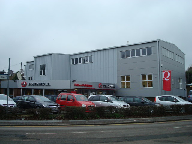 Goldsmith and Allcorn car dealer, Station Road, Heathfield