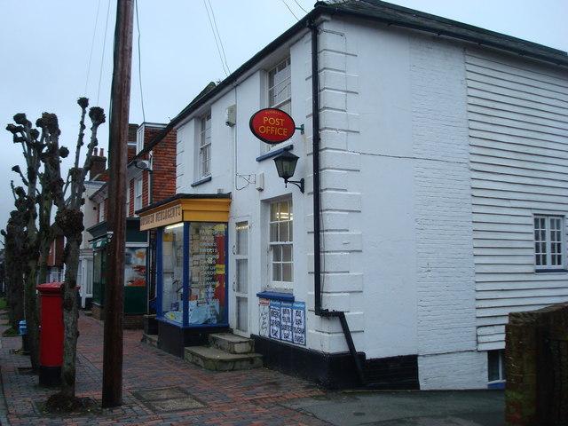 Burwash Post Office