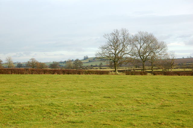 Farmland near Calcutt House farm looking towards Shuckburgh
