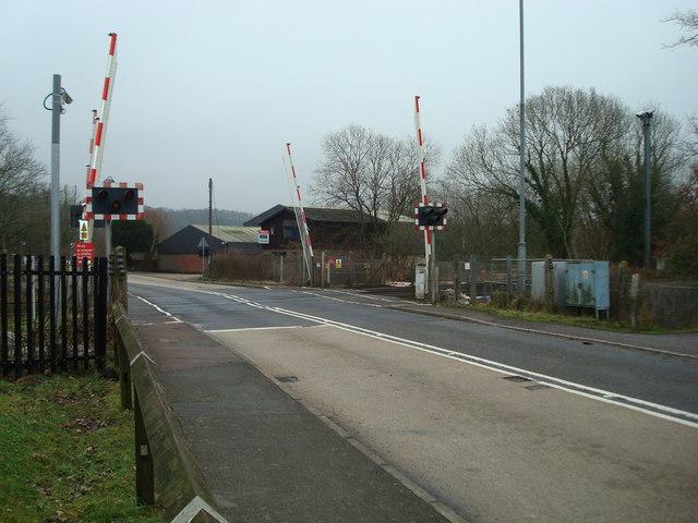 Level crossing, Etchingham