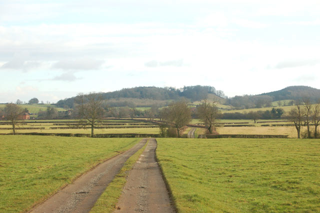 Looking southeast to Shuckburgh Hill from Calcutt House Farm