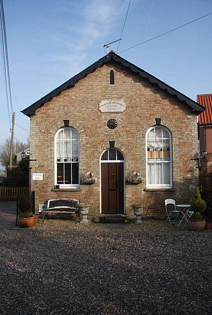 Former Primitive Methodist Chapel, Buxhall