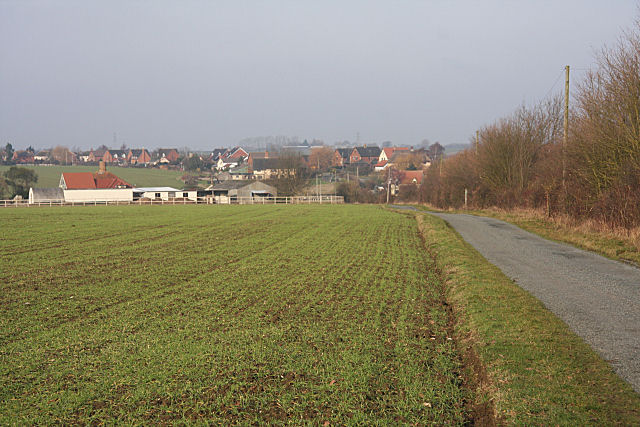 Mitchery Lane and Walnut Tree Farm