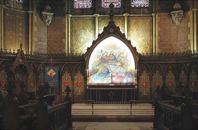 St Mark, Dalston, London E8 - Sanctuary