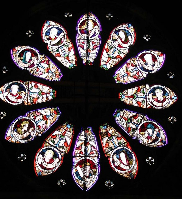 St Mark, Dalston, London E8 - West window