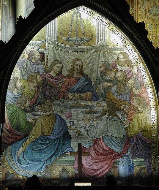 St Mark, Dalston, London E8 - Reredos