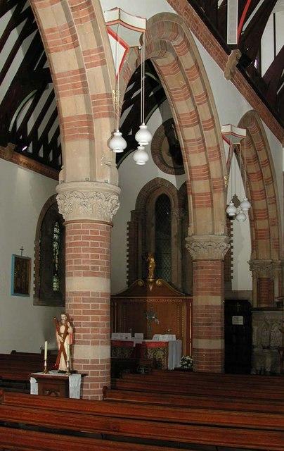 St Andrew, Hillingdon Road, Uxbridge - North arcade