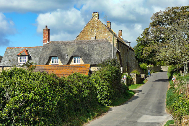 Abbotsbury ~ Road From The Pond