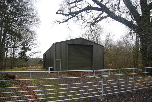 A new barn, Wat Stock