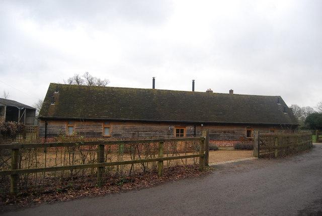 Converted barn, Wat Stock