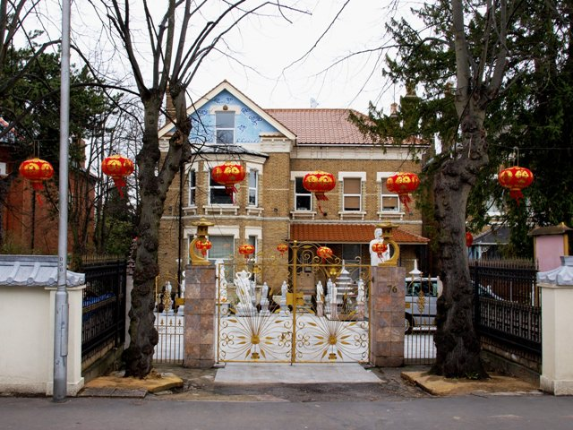 The Chinese House on Beulah Hill