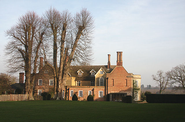 Rear of Copinger Hall, Buxhall