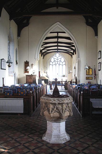 St Mary's Church, Buxhall