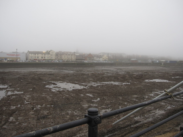 The empty Marine Lake at New Brighton #2