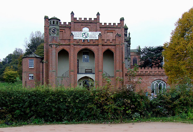 Hawkesyard Hall near Rugeley, Staffordshire