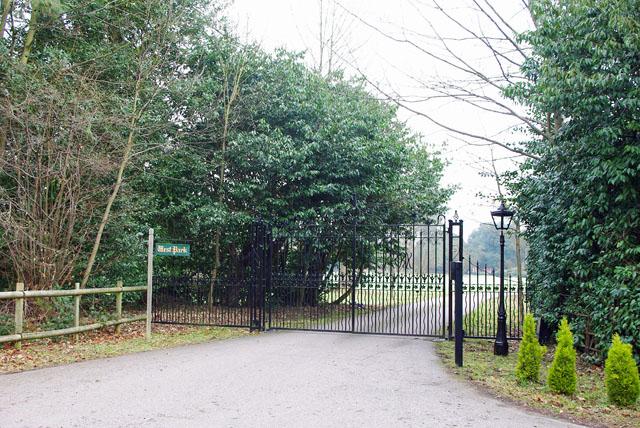 Gates to West Park