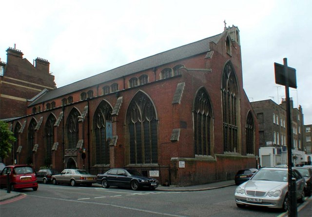 St Cyprian, Glentworth Street, London NW1