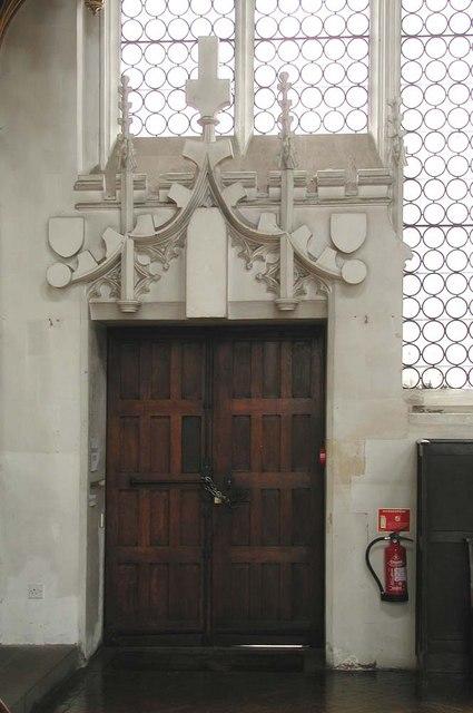 St Cyprian, Glentworth Street, London NW1 - Doorway