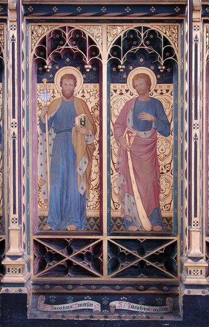 St Cyprian, Glentworth Street, London NW1 - Screen panel