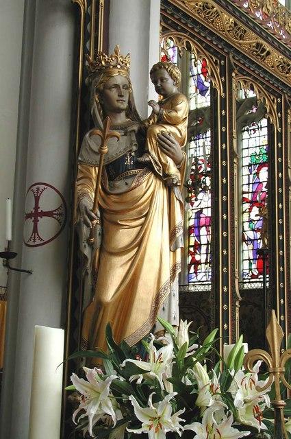 St Cyprian, Glentworth Street, London NW1 - Madonna & Child