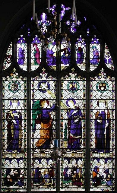 St Cyprian, Glentworth Street, London NW1 - Window