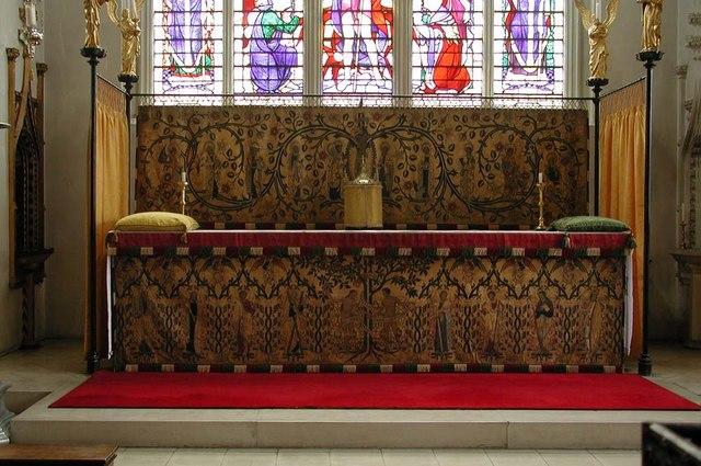 St Cyprian, Glentworth Street, London NW1 - High altar