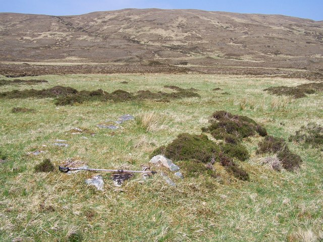 Shieling in Strath Dubh.