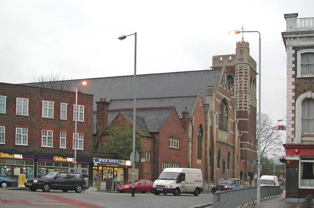 St Mary of Eton, Eastway, Hackney Wick, London E9