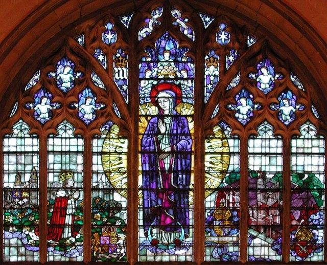 St Mary of Eton, Eastway, Hackney Wick, London E9 - Window