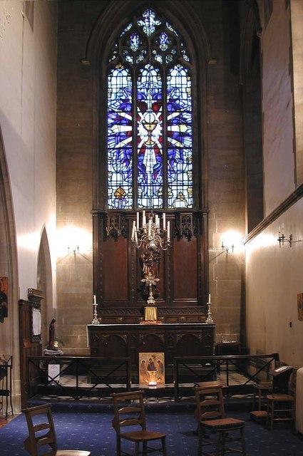 St Mary of Eton, Eastway, Hackney Wick, London E9 - Lady chapel