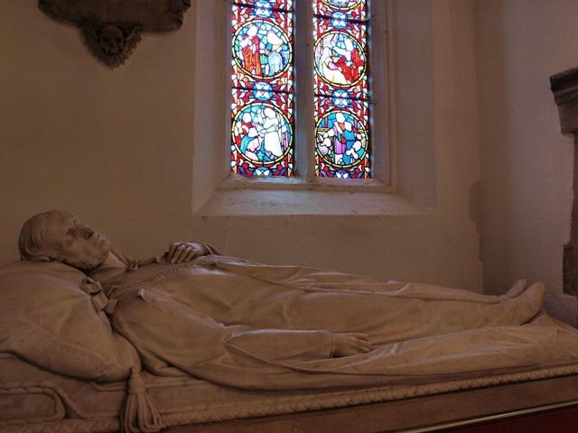 Tomb of Mountstuart Elphinstone in Limpsfield Church